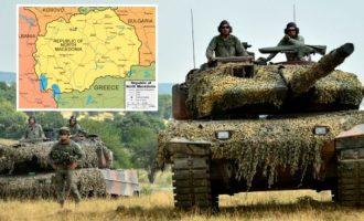 «Ζώνη ασφαλείας» στη Βόρεια Μακεδονία εάν ακυρώσει τη Συμφωνία των Πρεσπών