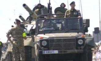 Παρέλαση 1ης Οκτωβρίου: Με νέα σερβικά κανόνια η Εθνική Φρουρά στην Κύπρο