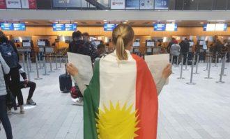 Σουηδέζα ακτιβίστρια εξευτέλισε τις Τουρκικές Αερογραμμές – Πήγαν να τη χτυπήσουν μέσα σε σουηδικό αεροδρόμιο