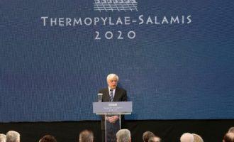 Παυλόπουλος: Είδος ακραίου ορίου της Δύσης προς την Ανατολή η Ελλάδα