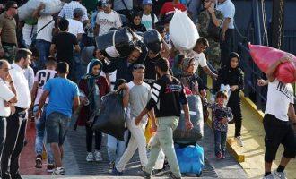 Τη Δευτέρα 700 αλλοδαποί φεύγουν από τη Σάμο με πλοίο για Πειραιά