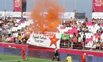 Τούρκος ποδοσφαιριστής: Αν χρειαστεί γινόμαστε στρατιώτες και σκοτώνουμε