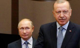 Ο Πούτιν παρέα με τον Ερντογάν διαπίστωσε: «Η κατάσταση στη Συρία είναι περίπλοκη»