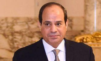 Ο πρόεδρος Σίσι επικύρωσε τη συμφωνία οριοθέτησης ΑΟΖ μεταξύ Ελλάδας και Αιγύπτου