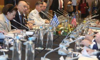 Αμερικανός αξιωματούχος: Η νέα αμυντική συνεργασία αναβαθμίζει τον ηγετικό ρόλο της Ελλάδας