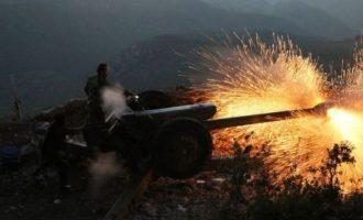 Σκληρές μάχες μεταξύ συριακού στρατού και τζιχαντιστών στα ορεινά της Λαοδίκειας
