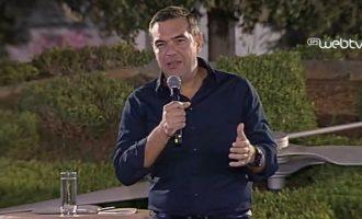 Τσίπρας: Η Ν.Δ. έπιασε το τζόκερ – Άφησαν τη χώρα χρεοκοπημένη και την παραλαμβάνουν με 37 δισ.
