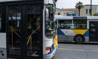 Κανονικά την Τρίτη τα δρομολόγια στα λεωφορεία