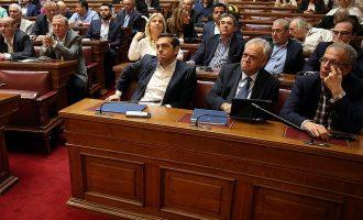 Βουλευτές ΣΥΡΙΖΑ: Σε ποιους κατηγορούμενους για ξέπλυμα χρήματος αποδεσμεύετε τους λογαριασμούς;