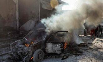 Ισχυρή βομβιστική επίθεση στην τουρκοκρατούμενη Τελ Αμπιάντ στη Β/Α Συρία