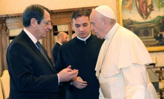 Ο Νίκος Αναστασιάδης συναντήθηκε με τον Πάπα Φραγκίσκο – Τι συζήτησαν