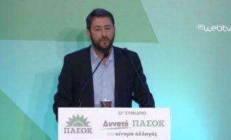 Ο Ανδρουλάκης «τα 'ριξε» στη Φώφη: Δεν αρμόζει στο ΠΑΣΟΚ αυτό το συνέδριο