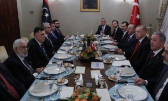 Οι Λίβυοι ισλαμιστές του Ερντογάν αποχώρησαν από τις συνομιλίες ειρήνευσης στη Γενεύη