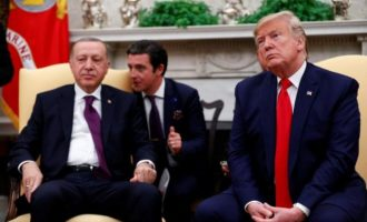 Ο Ερντογάν ζήτησε από τον Τραμπ να του παραδώσει τον Γκιουλέν