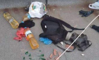 Δείτε με τι θα βομβάρδισαν οι μπαχαλάκηδες τους Αστυνομικούς στα Εξάρχεια (βίντεο)
