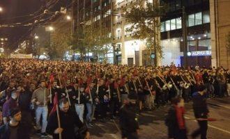 Βγήκαν στους δρόμους της Αθήνας οι φοιτητές