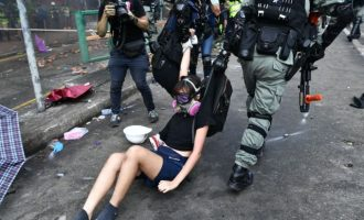 Η Αστυνομία μπήκε στο Πολυτεχνείο στο Χονγκ Κονγκ