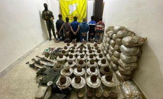 Πυρήνας της οργάνωσης Ισλαμικό Κράτος με 500 κιλά TNT συνελήφθη από τους Κούρδους στη Ράκα
