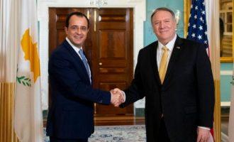 Εξαιρετικά πήγε η συνάντηση Χριστοδουλίδη-Πομπέο – Ακλόνητη η συμμαχία «3+1» Ελλάδας, Κύπρου, Ισραήλ + ΗΠΑ