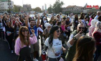 Ελληνορθόδοξοι έτρεξαν σε μαραθώνιο στη Δαμασκό για την ειρήνη στη Συρία