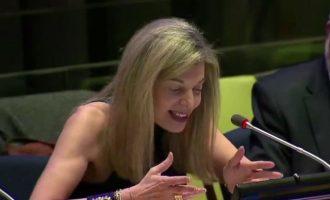 Η Ελληνίδα αντιπρόσωπος στον ΟΗΕ απέρριψε στο σύνολό τους τις τουρκικές αιτιάσεις για το Αιγαίο