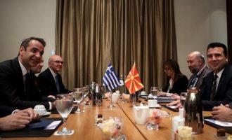 Μητσοτάκης: Οι Πρέσπες προϋπόθεση για την ευρωπαϊκή πορεία της Βόρειας Μακεδονίας