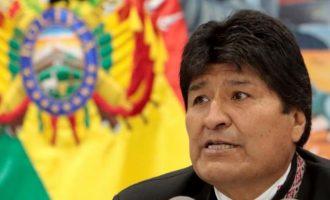 Ένταλμα σύλληψης εις βάρος του Μοράλες ζήτησε η εισαγγελία της Βολιβίας