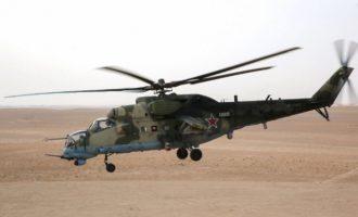 Η Ρωσία αναπτύσσει στρατιωτικά ελικόπτερα στα σύνορα της Συρίας με την Τουρκία
