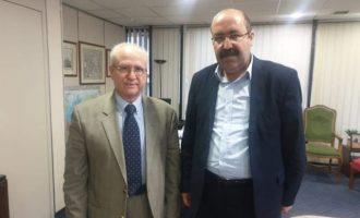 Δεκτός στο ΥΠΕΞ έγινε ο συμπρόεδρος Σαχόζ Χάσαν των Κούρδων της Συρίας
