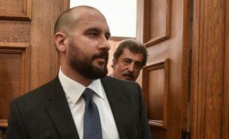 Τζανακόπουλος: Οι μάσκες έπεσαν – ΝΔ και ΚΙΝΑΛ εξευτελίζουν τους εαυτούς τους