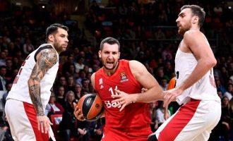 Euroleague: Κατάφερε να χάσει στο Μόναχο ο Ολυμπιακός 85-82 από τη Μπάγερν