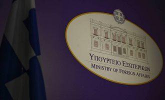 Άμεση απάντηση του ΥΠ.ΕΞ. στα τουρκικά μυθεύματα για την Ελλάδα