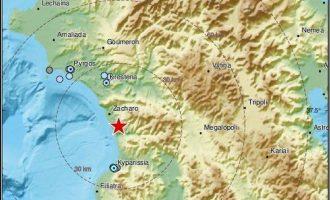Αισθητός σεισμός στη Μεσσηνία – Ταρακουνήθηκε η περιοχή