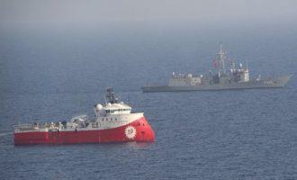 Η Τουρκία σχεδιάζει «εισβολή» νότια της Κρήτης με ερευνητικό σκάφος
