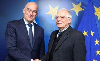 Δένδιας: Ο Σαράτζ «ισχυρίζεται ότι εκπροσωπεί τη Λιβύη» – «Να μη διανοείται η Τουρκία»