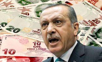 Μηδέν συνάλλαγμα στα τουρκικά θησαυροφυλάκια – Ο Ερντογάν πρέπει να βρει 172 δισ. πριν ανατιναχτεί η Τουρκία