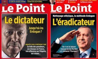 Γαλλικό περιοδικό πήρε βραβείο για το εξώφυλλο «Ο καταστροφέας Ερντογάν»
