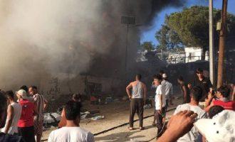 27χρονη μετανάστρια κάηκε ζωντανή στη Μυτιλήνη