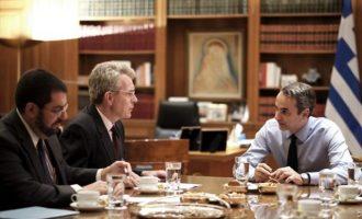 Μητσοτάκης και Πάιατ συζήτησαν για τις τουρκικές προκλήσεις