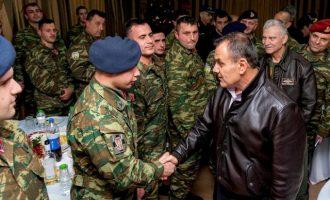 Στον Έβρο ο Παναγιωτόπουλος: «Είστε οι φρουροί στα τείχη μας»