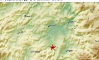 Σεισμός 4,8 Ρίχτερ στη δυτική Τουρκία