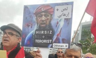 Διαδήλωση στην Τουρκική Πρεσβεία στην Τύνιδα: «Ερντογάν τρομοκράτη»