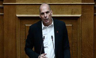 Βαρουφάκης: Φιλοδωρηματική πολιτική της κυβέρνησης – Ανεύθυνη υπακοή σε Τρόικα και διεθνή ολιγαρχία