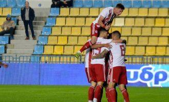 «Περίπατος» στο Αγρίνιο για τον Ολυμπιακό 3-0 τον Παναιτωλικό
