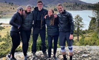 Ο Μητσοτάκης κάνει διακοπές στο Μέτσοβο και αναρτά φωτογραφίες στο instagram