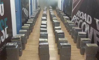 Τεράστια ποσότητα κοκαΐνης αξίας 50 εκατ. ευρώ βρήκε η αστυνομία στον Αστακό