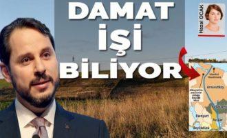 Μέσα σε όλες τις κομπίνες το σόι του Ερντογάν – Ο Αλμπαϊράκ αγόρασε γη δίπλα στη διώρυγα