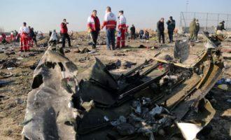 Το Ιράν παραδέχθηκε ότι κατέρριψε «από λάθος» το ουκρανικό αεροπλάνο