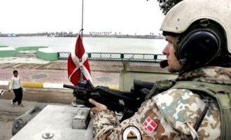 Οι περισσότεροι Δανοί στρατιώτες στο Ιράκ μεταφέρονται προσωρινά στο Κουβέιτ