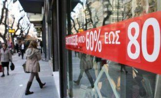 Ανοιχτά την Κυριακή τα καταστήματα – Πτώση των πωλήσεων στην αγορά